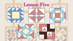 "Quilt Tribe May ""Lesson Five"""