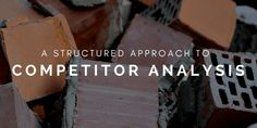 Some of the reasons you may want to do a competitor analysis are:  * You used to be the winner in organic search results but you are not anymore * You're expanding in a new market (geographically or with a category/service/product) * Competitors always outrank you * You're ahead of the game but want to discover why certain competitors are growing