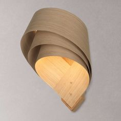 BuyTom Raffield Cape Wall Light, Oak Online at johnlewis.com