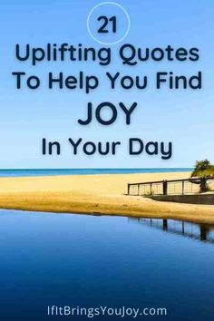 Get a daily boost of joy with a collection of inspirational quotes? Enjoy uplifting quotes that will help you improve your mood and provide a spark of joy in your day. Joy is a choice! #quotes Joy Quotes, Uplifting Quotes, Life Quotes, Inspirational Quotes, Your Smile, Make You Smile, Susan Jeffers, Do It Anyway, You Gave Up