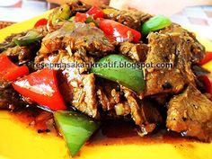 Daging Sapi Lada Hitam - Resep Masakan Indonesia