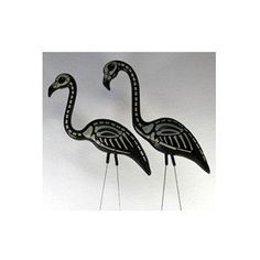 Skel-a-Flamingo (Skeleton) Set of Two Halloween Accessory.Skel-a-Flamingo (Skeleton) Halloween Accessory - Just like a real Flamingo Lawn or Yard Ornament, only DEAD! Set of Two.Price: 	$20.88 & eligible for FREE Super Saver Shipping on orders over $25. Details