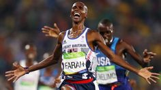 Mo Farah wins gold in 5000m Rio 2016