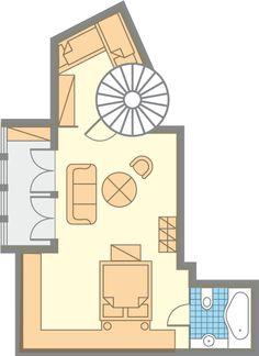 Urlaub in Bad Gastein - Hotel Post Bad Gastein, Floor Plans, Centre, Vacations, House Floor Plans