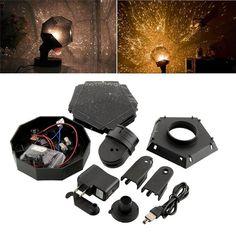 Dreamlike Star Magic LED Star Lights Night Light Laser Projector Holiday Gift For Kids Home Decoration Bedroom Desktop