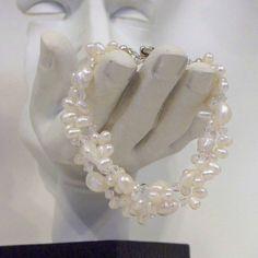 3 Strand Elegant Bracelet by tbyrddesigns on Etsy, $29.00
