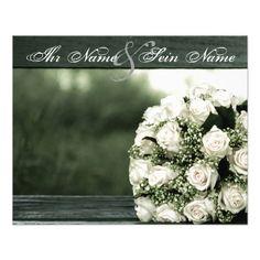 #Elegante #Hochzeits-#Einladungen #Individuelle #Flyer | #Zazzle