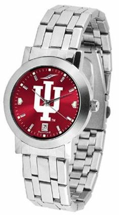 Indiana Dynasty Men's Anonized Watch SunTime. $80.95. Stainless Steel Band. AnoChrome Dial Option. Links Make Watch Adjustable. Officially Licensed Indiana Hoosiers Men's Watch Stainless Steel. Men