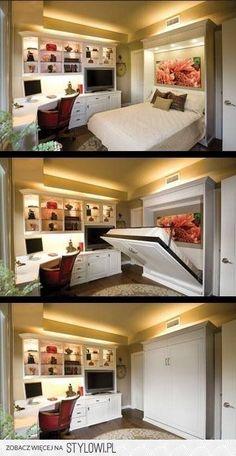 chowane łóżko
