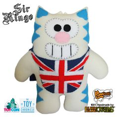 Sir Ringo of Kittyville.  UK Limited Edition,  furry-feline.com