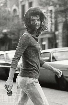 Photographer (paparazzi), Ron Gallela's famous photo of Jackie. She later sued him for invasion of privacy.
