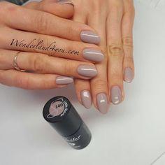 #semilac #nailoverlay #hybryda #zel #gel #nailshop by wonderland_nails_london