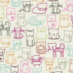 cat pattern | Tumblr