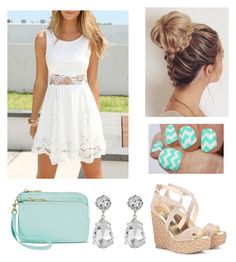 """""""Spring Outfit #66"""" by liziekay ❤ liked on Polyvore featuring Jimmy Choo, Merona and Kenneth Jay Lane"""