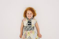 Beautiful shades of ginger and wonderfull little freckles Short Sleeve Dresses, Dresses With Sleeves, Kid Rock, Red Fish, Freckles, Shades, How To Make, Kids, Clothes