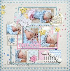 #scrapbook page idea from @Boutique Cute Dolls at @After 5 Designs