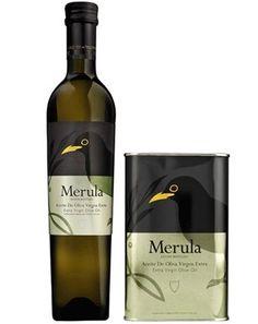 Merula EVOO from Badajoz - tiny budget - great packaging