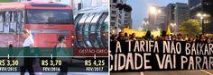 """Das 27 capitais brasileiras, 14 já fizeram reajustes no preço das passagens dos ônibus urbanos; todas elas acima da inflação medida nos últimos 12 meses, 6,29%; entre elas está o aumento que passou a vigorar nesta segunda-feira, 6, em Curitiba, de 15%, que fez a tarifa subir de R$ 3,70 para R$ 4,25; """"Não se registraram os protestos dos 'jornadeiros' de 2013, que simbolizaram o início da crise política com seu 'não são apenas 20 centavos'"""", diz o jornalista Fernando B..."""