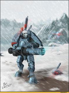 warhammer 40000,фэндомы,tau empire,xv15,красивые картинки