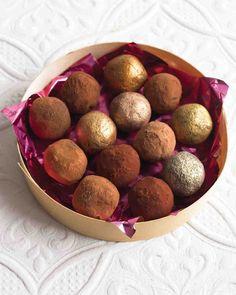 Easy Chocolate Truffles- Martha Stewart