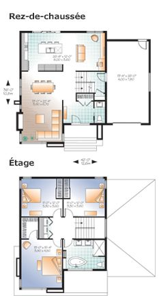 Plan W3713-V1 - Plancher