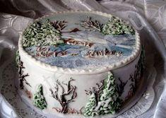 Торт на новый год Арт. 8-2233