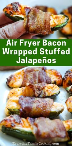 The best air fryer appetizers jalapeno poppers. Eat these gluten free veggies on. - The best air fryer appetizers jalapeno poppers. Eat these gluten free veggies on game day or holida - Air Fryer Recipes Snacks, Air Fryer Recipes Breakfast, Air Fry Recipes, Air Fryer Recipes Gluten Free, Jalapeno Recipes, Spicy Recipes, Healthy Recipes, Easy Recipes, Roasted Jalapeno