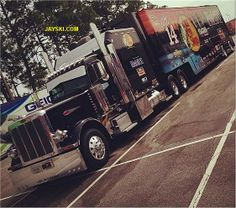 Tony Stewart's hauler for the 2014 Nascar Sprint Cup season