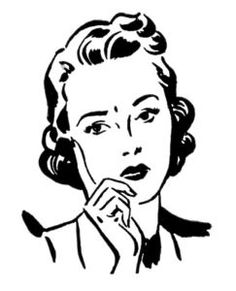 retro clip art quirky women clipart pinterest clip art rh pinterest com vintage woman clipart vintage woman clipart
