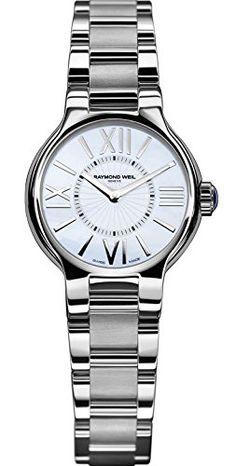 Raymond Weil Women's 5927-ST-00907 Noemia Mother-Of-Pearl Roman Numerals... - http://watchesntime.com/raymond-weil-women-s-5927-st-00907-noemia-mother-of-pearl-roman-numerals/