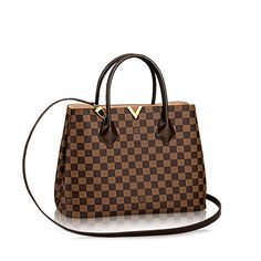 f139d53a15de Official Website UK - Kensington Damier Ebene Canvas Discover our selection  of Handbags for unique gifts, exclusively available on the Official Louis  ...