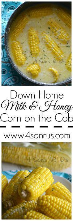 Down Home Milk & Honey Corn On The Cob