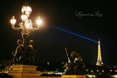 Eiffel Tower at night, by Paris photographer Stacy Reeves french photographer