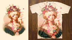 Pretty sure St. Antoinette would have worn a t-shirt of herself!