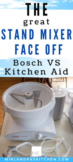 Everybody thinks that Kitchen Aid makes the best stand mixer. But do they? If you are going to spend money on a kitchen tool you want it to work great and hold up for many, many years! I put the Bosch, the Kitchen Aid and the Wonder Mix through many tests to discover what each one did well and what they couldn't do. This article will help you decide on the right mixer for YOU! #bosch #kitchenaid #standmixer #baking #review