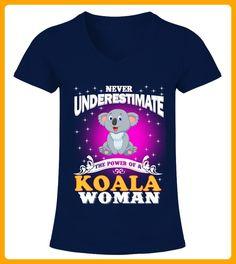 The Power Of A Koala Woman - Koala shirts (*Partner-Link)