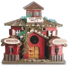 Winery Bird House