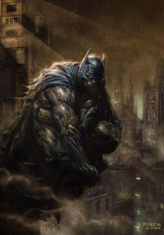 david finch...the way Batman should look!!