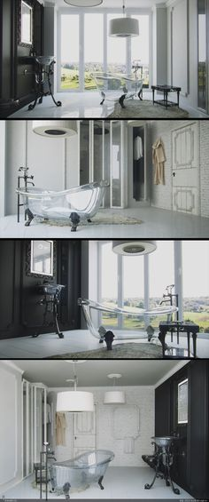 Loooove this tub, perfect mix of modern and traditional! Muuuust have!