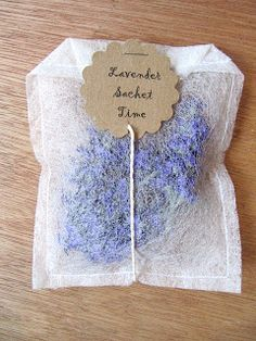 Dryer sheet sachets - perfect for making your clothes/closets/drawers smell better. I'd use used dryer sheets so that what I put in them was the strongest smell. I'm thinking whole cloves, cinnamon sticks, dried herbs, even rice sprinkled with essential oils. Keep one in empty luggage. ~Ariel
