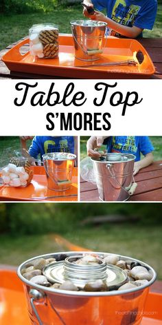 Table Top S'mores