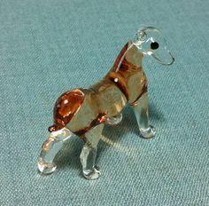 hand blown glass animals