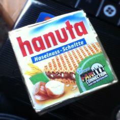 Hazelnut & chocolate wafers.