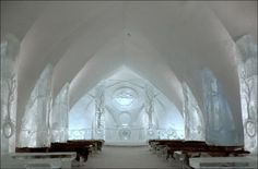 Would you visit an ice hotel?
