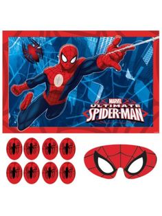 Spiderman Party Game - Party Games and Individual Party Supplies