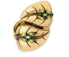 Leaves Cuff, Atelier Swarovski by Sandy Powell - Jewelry - Swarovski Online Shop