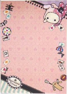 Sentimental Circus Shappo Wallpaper Kawaii sentimental circus