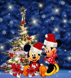 Minnie & mickey christmas