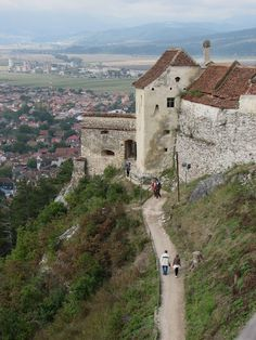 : Râşnov {My Romania} Bulgaria, Bucharest Romania, Brasov Romania, Romanian Castles, Places To See, Places To Travel, Places Around The World, Around The Worlds, Republic Of Macedonia