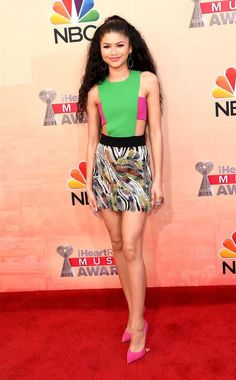 2015 iHeartRadio Music Awards Red Carpet Arrivals - Zendaya from #InStyle